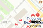 Схема проезда до компании ВетЧип в Москве