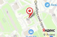 Схема проезда до компании Perfetto в Подольске