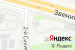 Схема проезда до компании ПК Центрогаз в Москве