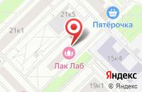 Схема проезда до компании Комфортстрой в Москве