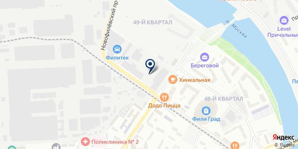 Миркир на карте Москве