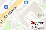 Схема проезда до компании BeautyProff в Москве