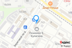 Сдается двухкомнатная квартира в Москве м. Фили, Береговой проезд, 7