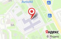 Схема проезда до компании Средняя общеобразовательная школа №18 в Подольске