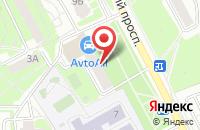Схема проезда до компании AvtoAll.ru в Подольске