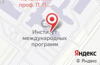 Схема проезда до компании РТП Альянс в Москве
