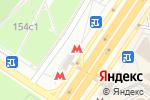 Схема проезда до компании Станция Теплый стан в Москве