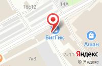 Схема проезда до компании Айс в Москве