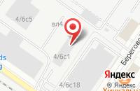 Схема проезда до компании Штурман Кф в Москве
