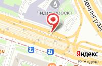 Схема проезда до компании Молл Паблишинг Хаус в Москве