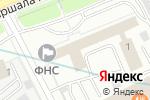 Схема проезда до компании КОМПЛЕКС1 в Москве