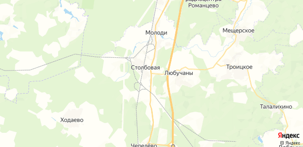 Дмитровка на карте