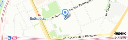 Средняя общеобразовательная школа №717 с дошкольным отделением на карте Москвы