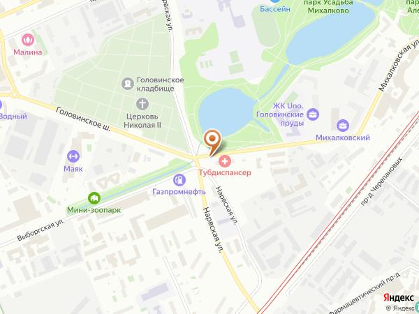 Остановка Диспансер в Москве
