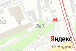 Схема проезда до компании Вихрь-21 в Москве