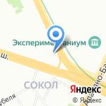 Инвест-резерв на карте Москвы