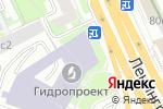 Схема проезда до компании Интерфуд сервис в Москве