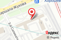 Схема проезда до компании Глори в Москве