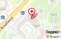 Схема проезда до компании ТвинГрупп в Москве