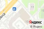 Схема проезда до компании La Danse в Москве