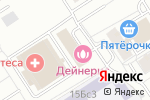 Схема проезда до компании КОРХ в Москве