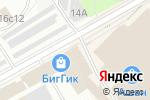 Схема проезда до компании Black & White в Москве