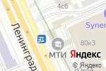 Схема проезда до компании Артман Групп в Москве