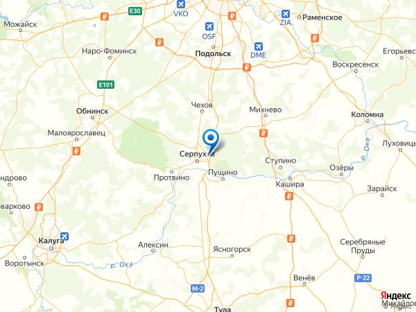 деревня Левашово на карте