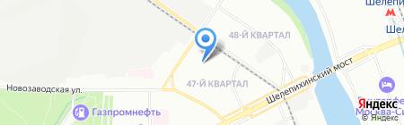 A-ДОМА на карте Москвы