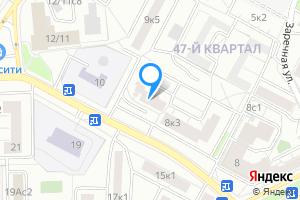 Снять однокомнатную квартиру в Москве Новозаводская ул., 8к4