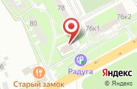 Схема проезда до компании СКИФ-3 в Подольске