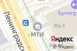 Схема проезда до компании СВОИ в Москве