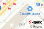 Схема проезда до компании Lucet.ru в Москве