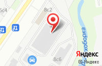 Схема проезда до компании Солс в Москве