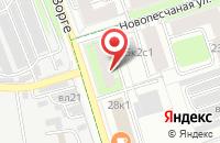 Схема проезда до компании Банко-Информ в Москве