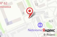 Схема проезда до компании Регионстрой в Москве