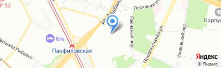 La Violette на карте Москвы