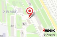 Схема проезда до компании Miss Kristina в Подольске