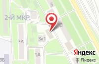 Схема проезда до компании Лана в Подольске