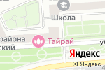 Схема проезда до компании Центральная автошкола Москвы в Москве