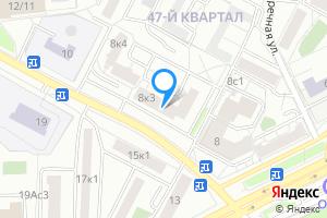 Сдается однокомнатная квартира в Москве м. Фили, Новозаводская улица, 8к3