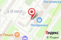 Схема проезда до компании Эвента в Москве