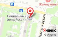 Схема проезда до компании Главное управление Пенсионного фонда РФ №4 г. Москвы и Московской области в Подольске