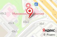 Схема проезда до компании Акварель в Москве