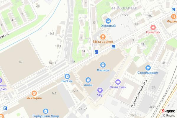 Ремонт телевизоров Багратионовский проезд на яндекс карте