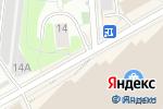 Схема проезда до компании ProInside.net в Москве