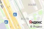 Схема проезда до компании Ньюс Косметик в Москве