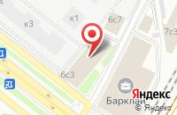 Схема проезда до компании Финансы и Кредит в Москве