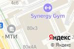 Схема проезда до компании Бравилор в Москве