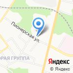 Управление ФСБ России по Тульской области на карте Щёкино